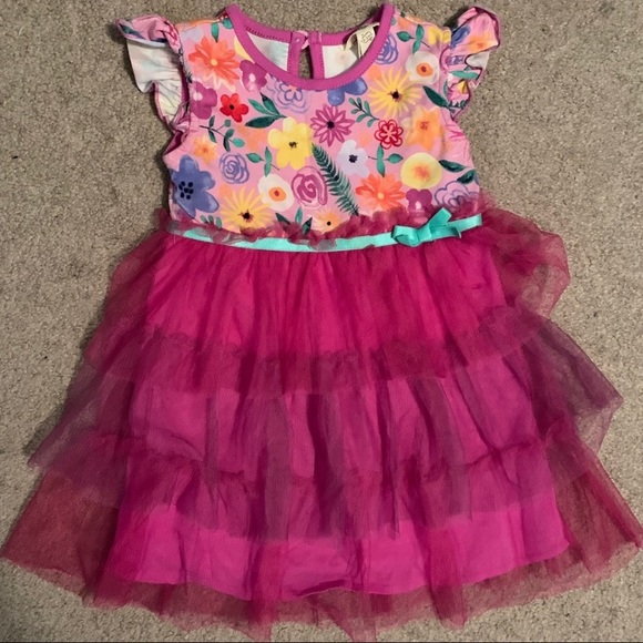 Matilda Jane DOWN DOWN DOWN Dress Diaper Cover 12-18 Months Once Upon A Time NWT